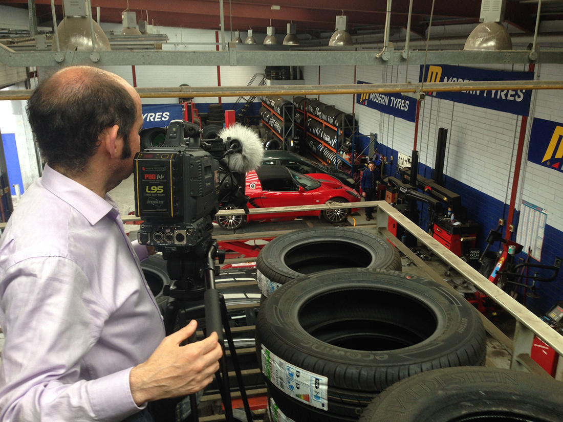 New Tyres Near Me >> Modern Tyres TV commercial shoot