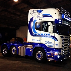 Alcoa Wheels on Ward Groupage Lorry | Modern Tyres