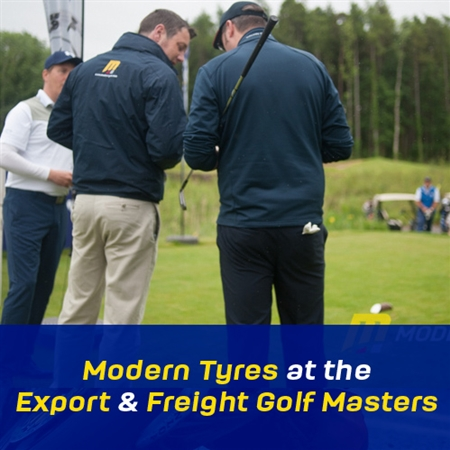 729486dc67 Modern Tyres at the Export   Freight Golf Masters.