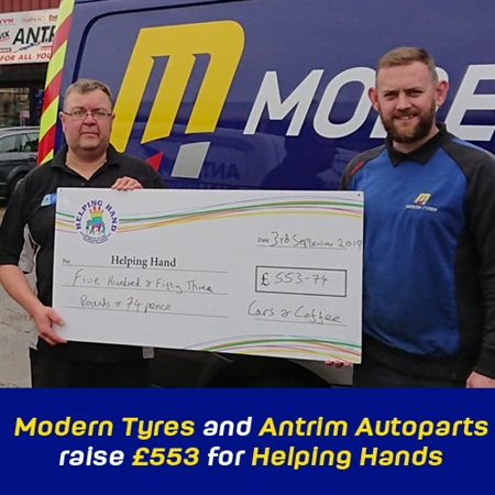 Modern Tyres Helping Hands