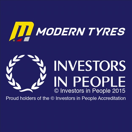 Modern Tyres celebrates Investors in People accreditation