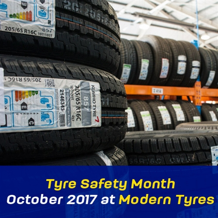 Tyre Safety Month October 2017